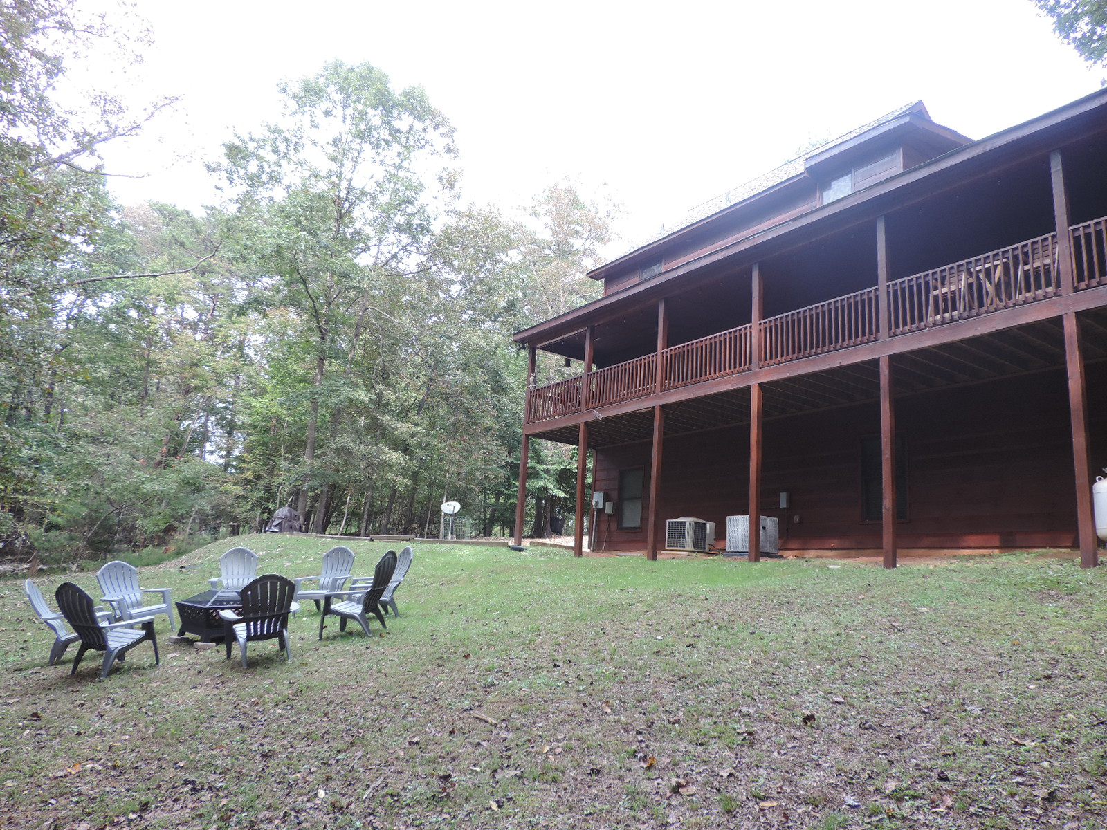 Floor Plan for NEW LISTING: BLISSFUL BEAR RETREAT - 4 Bedrooms 3 Baths with Gas Fireplace, Wi-Fi, BBQ Gas Grill, Fire Pit, Wrap Around Porch on Large a Private Lot.