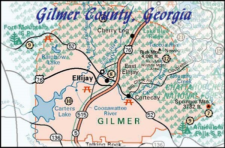 Gilmer County Calendar of Events